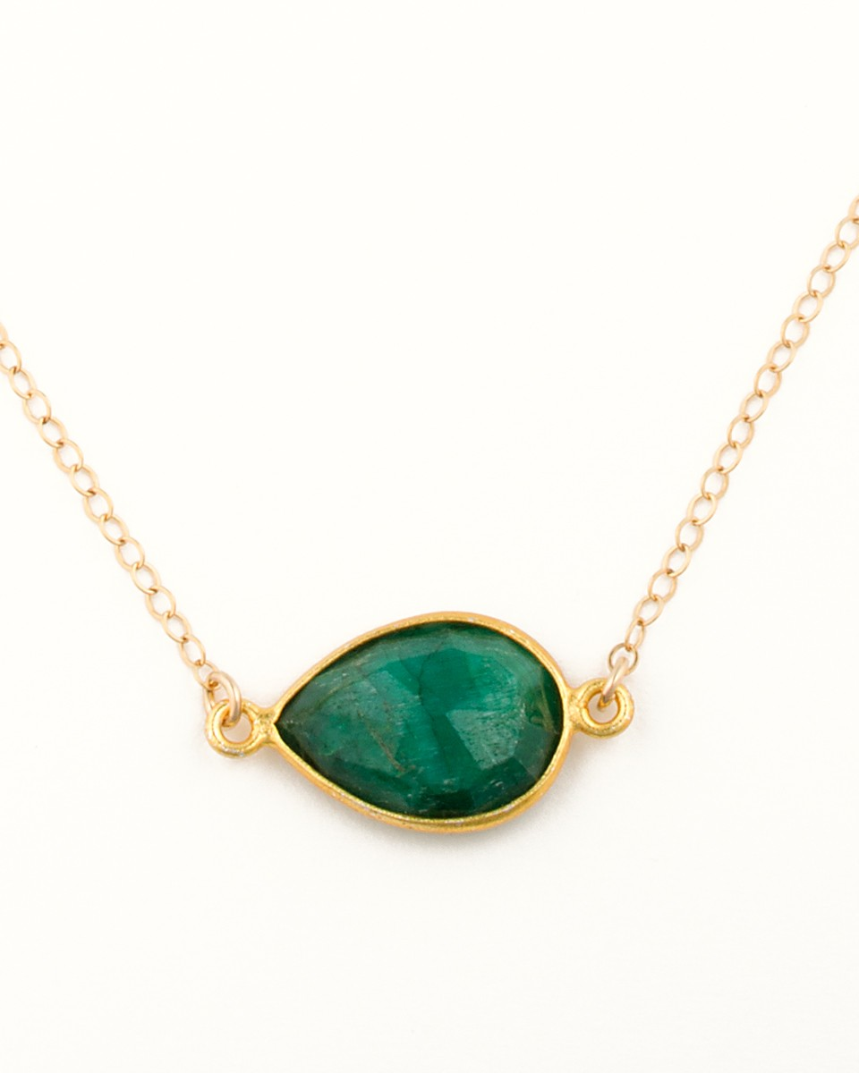 drop single green gold nl with wg line white graduated zigzag in necklace diamond emerald jewelry