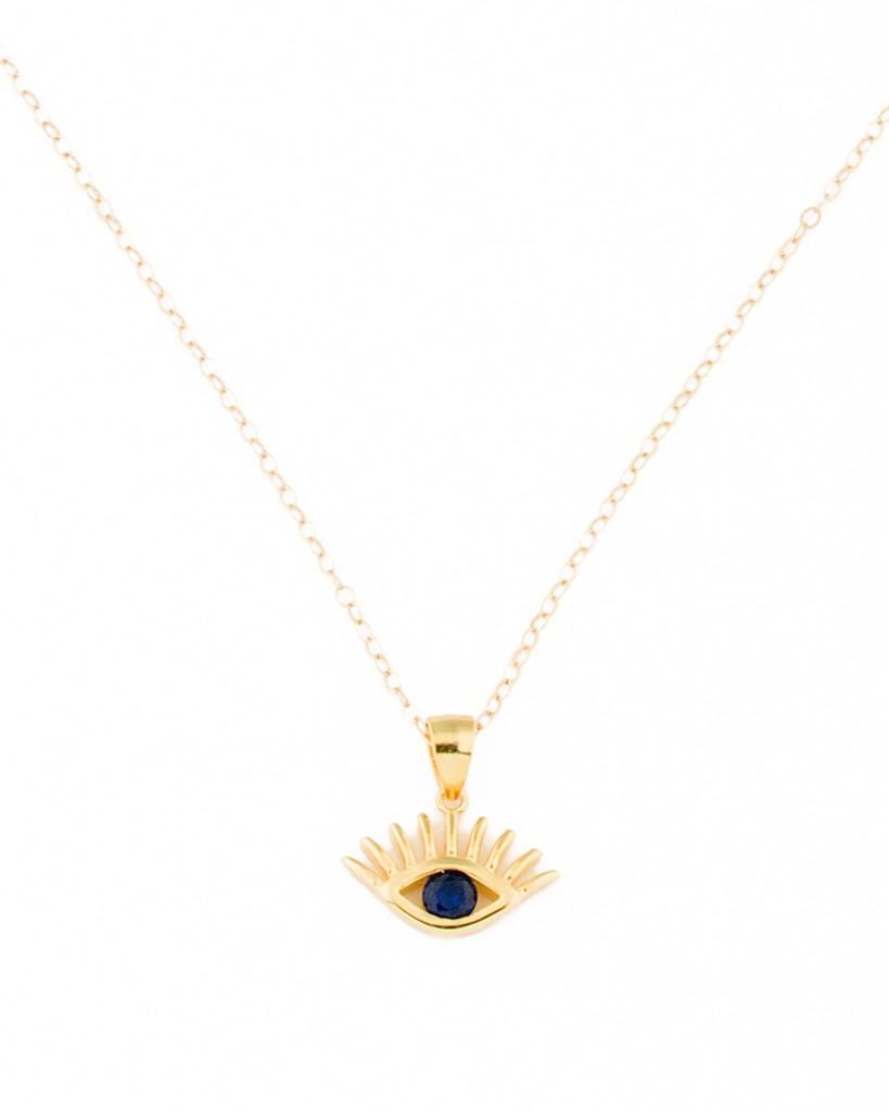 Evil eye pendant gold evil eye jewelry aloadofball Gallery