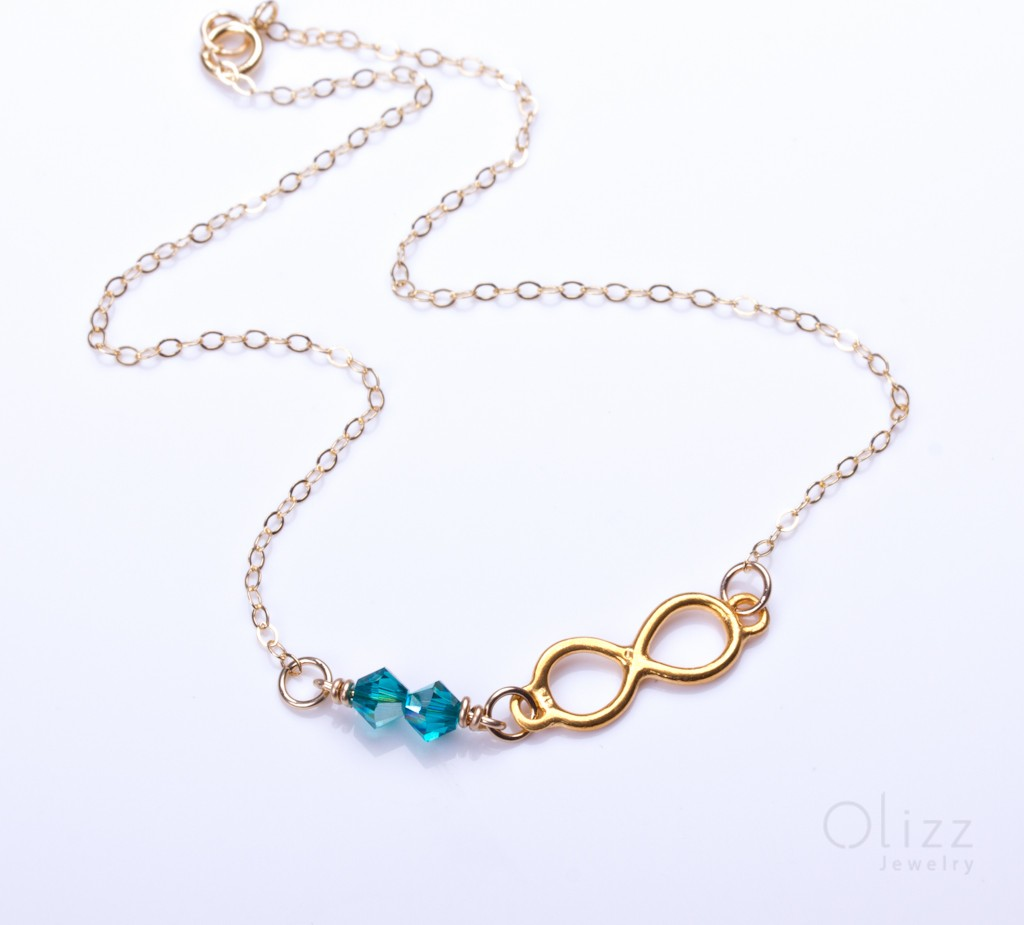 jewelry panopia infinity love bridal bridesmaid and bracelets turquoise anklet gold bracelet ankle olizz