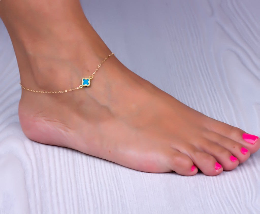 glowsly bracelet ankle anklets wear anklet silver and leg to how best bracelets gold meanings