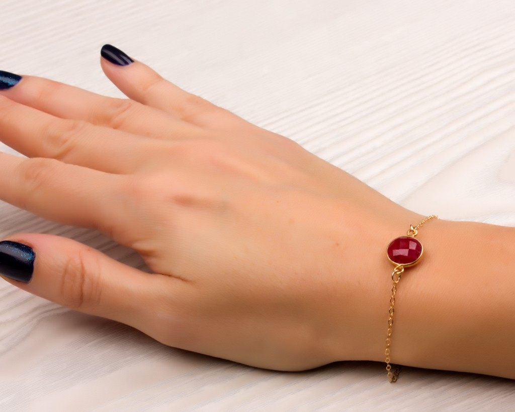 yellow hamsa red string tone sapphire on products with tiny gold delicate cord blue bracelet