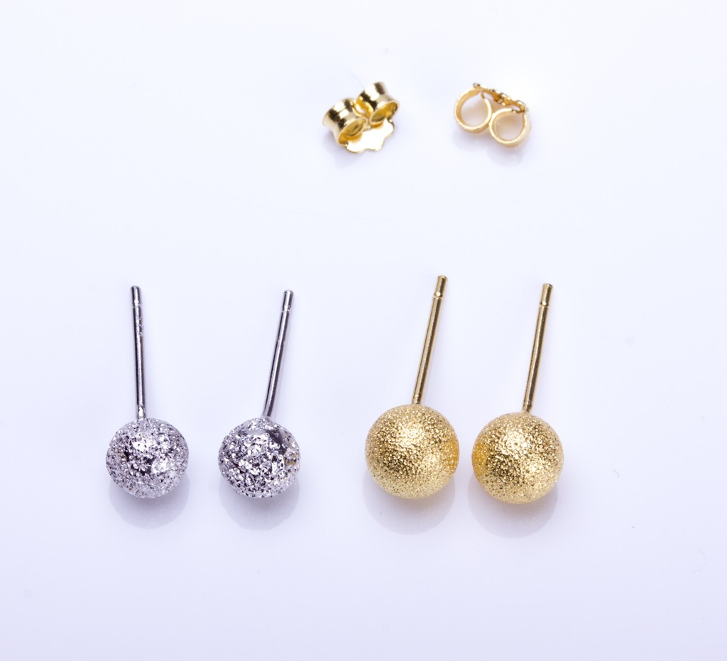 or zoom posts studs silver ball fullxfull listing earrings simple gold il filled