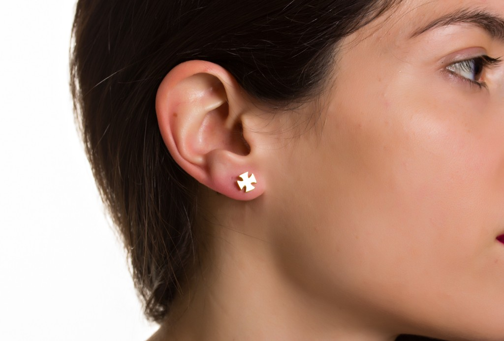 earrings for sensitive ears earrings studs pistis