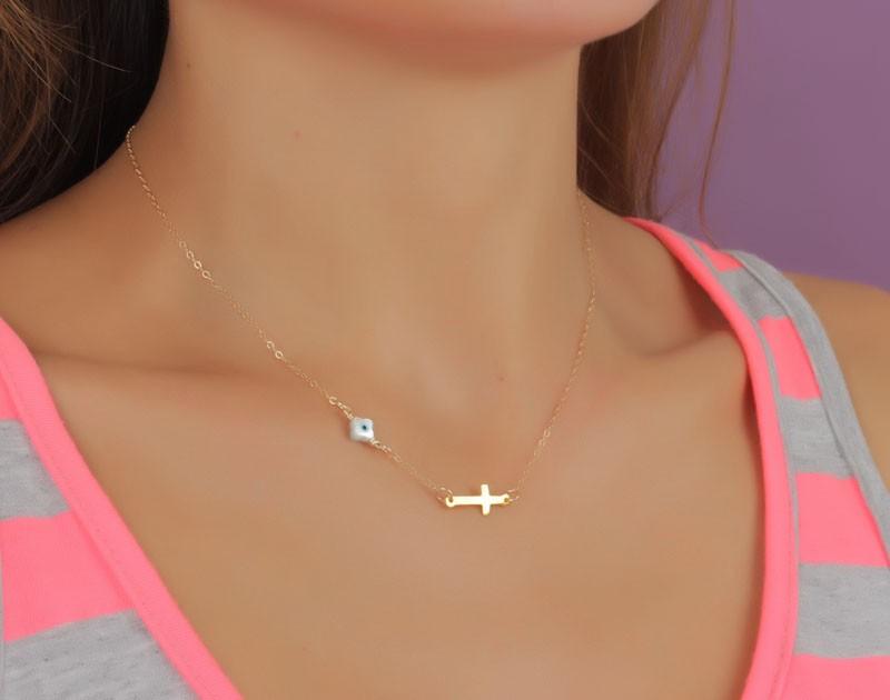 Evil Eye Necklace Protection Necklace StyxVol2