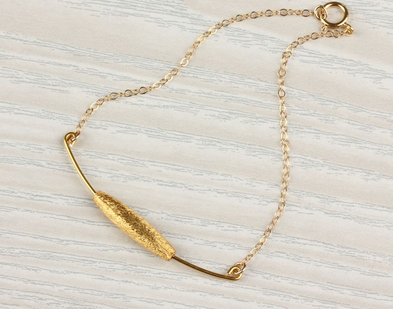 Delicate Gold Filled Chain Bracelet