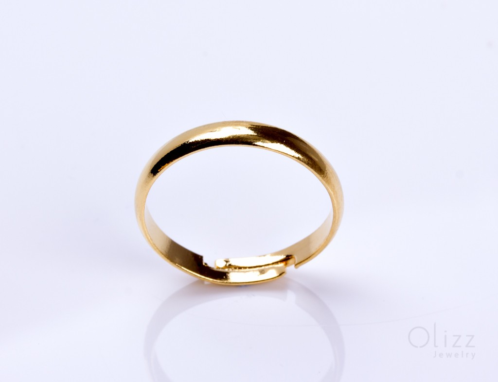 gold rings minimalist yellow twist thin dainty band twisted solid rose ring