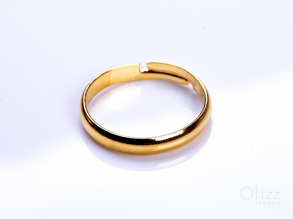 Engagement Gold Ring Gold Adjustable Ring
