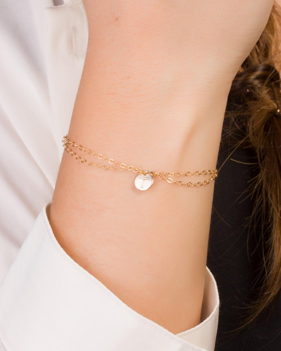 Personalized Bridesmaid Bracelet