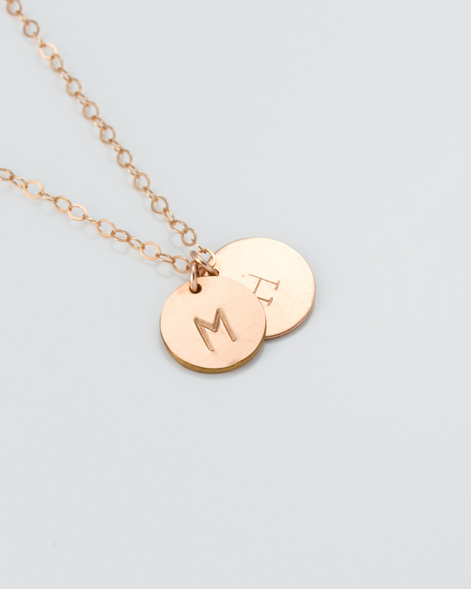 Rose gold personalized necklace personalized necklace for Rose gold personalized jewelry