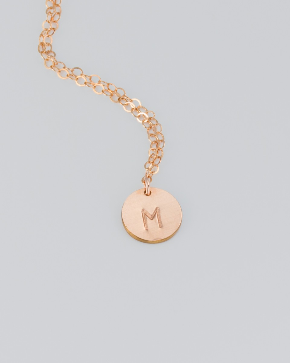 rose gold personalized necklace personalized necklace for mom