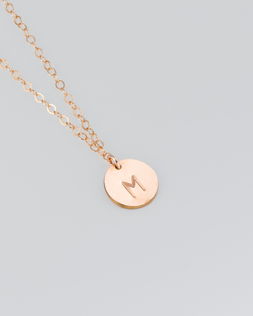 custom adjustable products no gold karat personalized necklace mie pendant or rose ella chain
