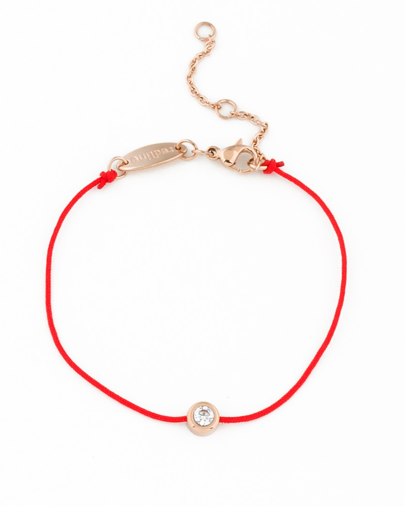 size van l gold cleef rose arpels bracelet red and i perlee signature