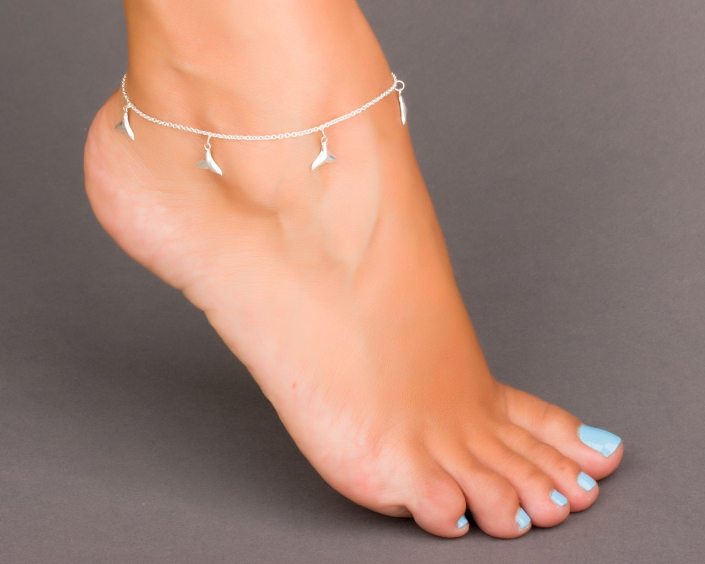 silver butterfly ankle sterling design chain length total itm anklet