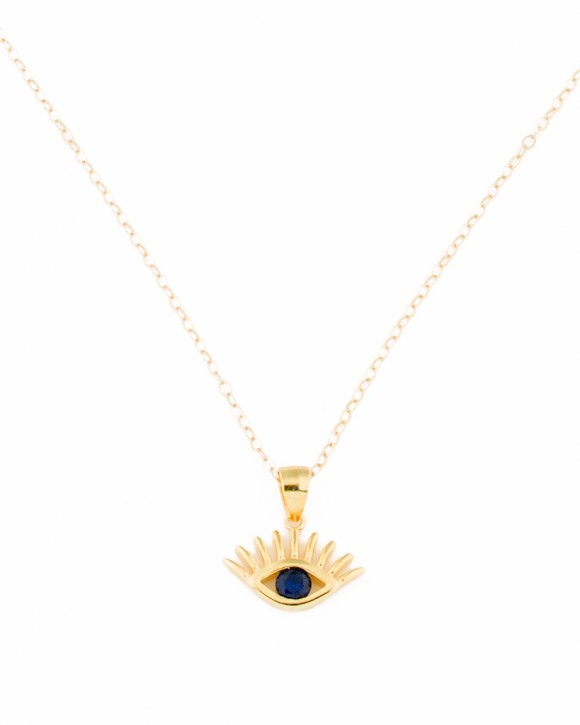 Evil Eye Pendant • Gold Evil Eye Jewelry