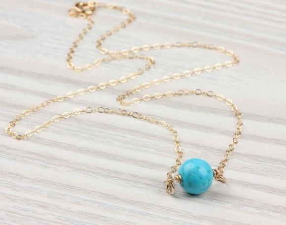 "Turquoise bracelet, gold bracelet, bridesmaid bracelet, silver bracelet, everyday bracelet, gemstone bracelet, simple bracelet, ""Calydonian"""