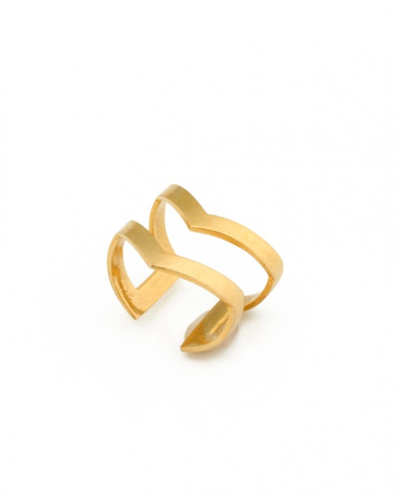 V Ring - Chevron Ring