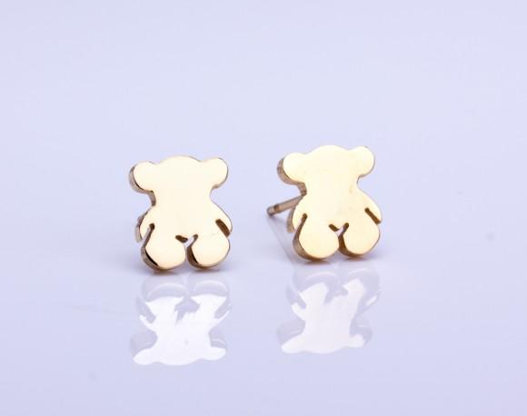 Gold Bridesmaid Earrings / Girly Earrings   Enyo