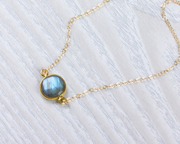 Labradorite Necklace - Boho Necklace