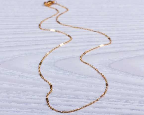 Gold Necklace / Layered Chain Necklace