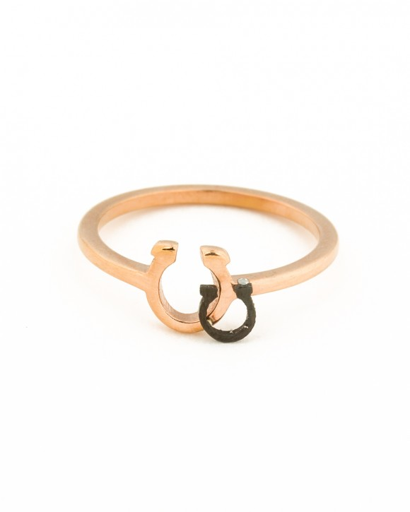 Pinky Ring • Horseshoe Ring • Good Luck Ring