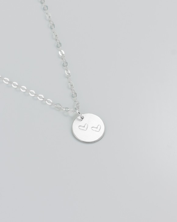 Personalized jewelry for moms • Personalized Silver Necklace