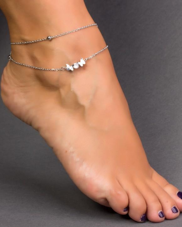 Silver Ankle Bracelet - Cheap Ankle Bracelet