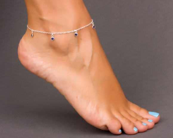 Anklet with Charms - Anklets for Women