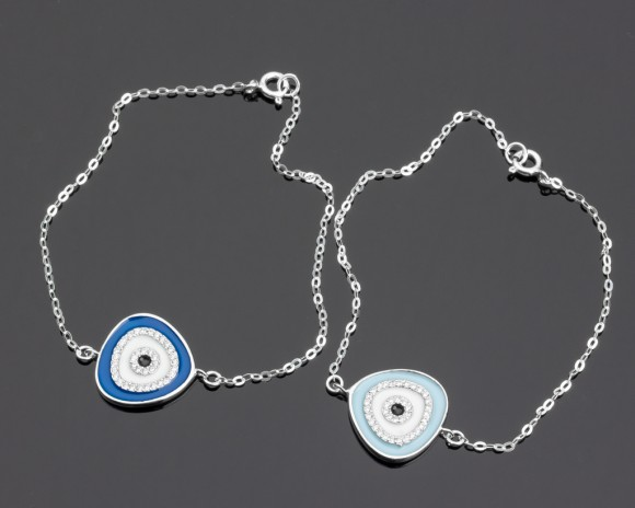 Evil Eye Bracelet - Silver Bracelet for Women