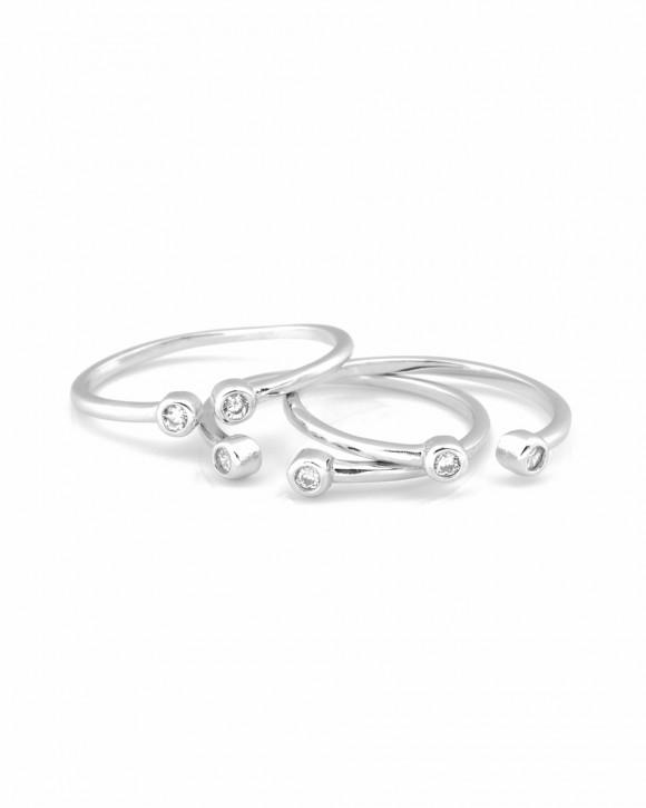 Silver Midi Ring • Pinky Ring