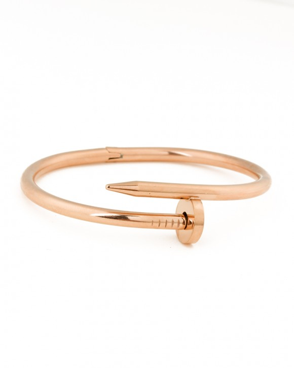 Bangle Bracelet • Rose Gold Cuff Bracelet