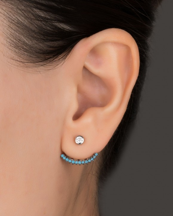 Ear Jacket Silver