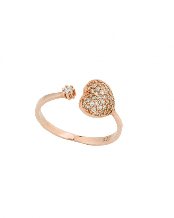Heart Ring •  Rose Gold Ring