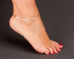 Rose Gold Anklet - Beach Anklet