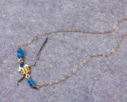 Gold Ankle Bracelet / Hamsa Anklet / Hamsa Gold Anklet / Turquoise Anklet / Hamsa Bracelet / Ankle Bracelets For Women | Sagaritis