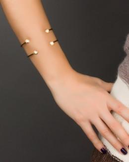 Cuff Bracelet • Gold Bangle Bracelet