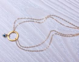 14k Gold Filled Anklet Bracelet / Anklet In Gold | Peuce
