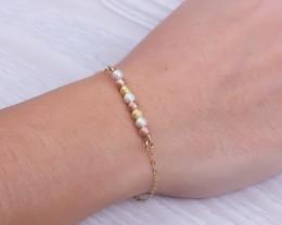 Rose Gold Filled Bracelet / Bridal Shower Gift | Gorgo