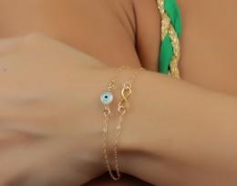 Gold Layered Bracelet / Girls Charm Bracelet | Harpies