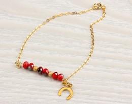 Ladies Gold Bracelet / Swarovski Bracelet | Ismene