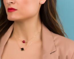 Red Bracelet / Gemstone Bracelet | Myrtoessa
