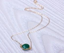 Gemstone Bracelet / Emerald Jewelry | Phasis