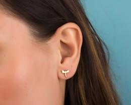 Women Gold Earrings / Stainless Steel Earrings | Dryads