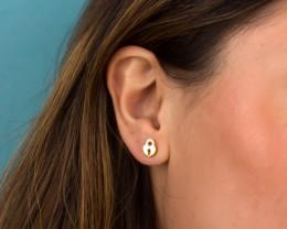 Small Gold Earrings / Post Earrings | Nonacris