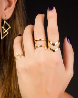 Midi Ring • Wishbone Ring