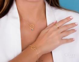 Evil Eye Necklace / Infinity Necklace | Peuce