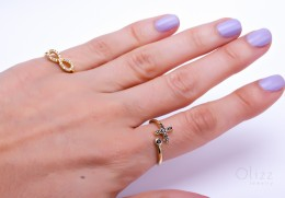 Infinity Ring / Gold And Silver Ring | Infinity