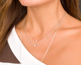 Sterling Silver Necklace - Cheap Silver Jewelry