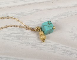 Sexy Ankle Bracelets / Gold and Turquoise Jewelry | Okeanides