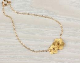 Gold Simple Bracelet / Gold Filled Bracelet | Persephone