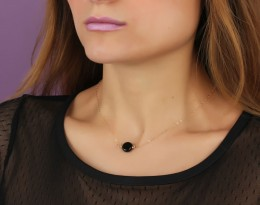 Onyx Necklace • Black Onyx Jewelry